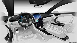 Wild Tesla Model S Interior Render ...