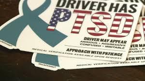 Stuckonvets Car Sticker Supports Veterans Suffering From Ptsd Krdo
