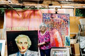 In the studio with Sonia Lawson RA   Blog   Royal Academy of Arts