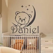 Personalized Name Wall Decal Boy Sticker Kids Nursery Vinyl Decal Home Decor Diy Ebay