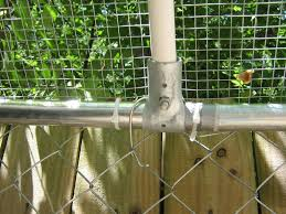 How Would You Put A Roof On Chain Link Backyard Chickens Learn How To Raise Chickens