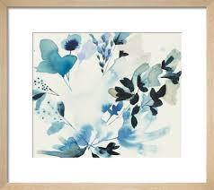 wildflower study i art print by jen
