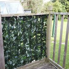 Artificial Ivy 2 Leaf Hedge Privacy Screening Garden Fence 1 5m High X 3m Long For Sale Online Ebay