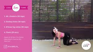 july full body home workout challenge