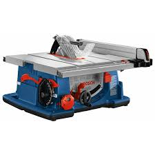 Bosch 10 In Carbide Tipped Blade 15 Amp Portable Table Saw In The Table Saws Department At Lowes Com
