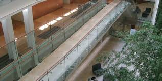 stainless steel glass barade