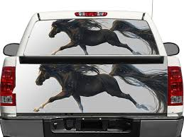 Product Running Horse Rear Window Or Tailgate Decal Sticker Pick Up Truck Suv Car Rear Window Decals Rear Window Horse Rearing