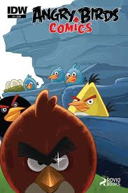 IDW, Rovio Partner for 'Angry Bird' Comics