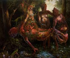 Adrian Cox Mutates and Reassembles the Body In Nature | Scene360