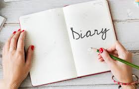 Diary Write Planner Agenda Concept Stock Photo, Picture And ...