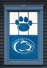 Penn State Nittany Lions Dual Wowindow Poster Window Decal Allposters Com