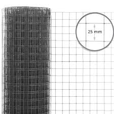 25mm X 25mm Super Prime Welded Wire Mesh H60cm X L30m 16g Wire Fence