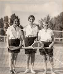 Tennis - Mary June Ivy Evans | University Historic Photograph Collection |  Libraries | Colorado State University