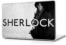 Global Sherlock Black And White Vinyl Laptop Decal 15 6 Price In India Buy Global Sherlock Black And White Vinyl Laptop Decal 15 6 Online At Flipkart Com