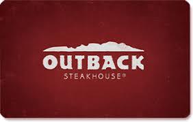 restaurant gift cards outback steakhouse