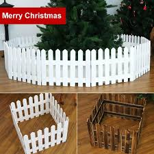 160cm Wooden Fence Christmas Tree Ornament Holiday Showcase Glasses Props Decor Christmas Tree Fence Workmanship Christmas Decor Fencing Trellis Gates Aliexpress