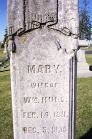 Mary Polly Foster Huls (1811-1899) - Find A Grave Memorial