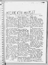 McCracken Midget from McCracken, Kansas on April 7, 1949 · 1