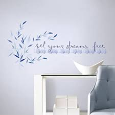 Roommates Kathy Davis Set Your Dreams Free Quote Peel And Stick Wall Decals Amazon Com