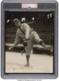 Early 1910's Walter Johnson Original Photograph Used for 1914-15 | Lot  #80003 | Heritage Auctions