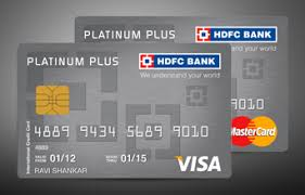 hdfc platinum plus credit card review