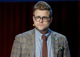 Adam Conover of Adam Ruins Everything on his election-themed TV special.