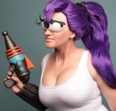 leela cosplay from futurama costume pop