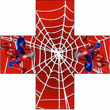 Imprimibles De Spiderman Cajas Para Imprimir Spiderman