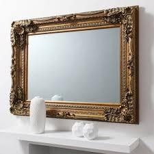 gold frame edward wall mirror 120 x