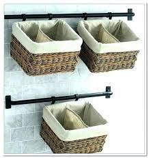 wall mounted baskets small wall basket