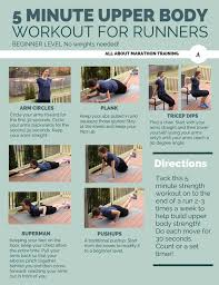 running workouts 5 minute upper body