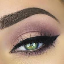 natural eye makeup look for green eyes