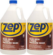 Amazon Com Zep Wood Deck And Fence Pressure Wash Cleaner Concentrate 128 Ounce Zudfw128 Pack Of 2 Construction Grade Health Personal Care