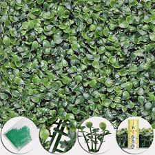 Details About 24pcs Artificial Boxwood Mat Wall Hedge Decor Privacy Fence Panel Grass 10x10 Artificial Boxwood Boxwood Hedge Privacy Fence Panels