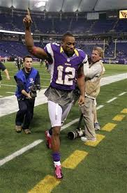 NFC NORTH: Vikings bursting bubbles on screen pass to Percy Harvin | News |  theoaklandpress.com