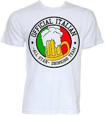 t shirts mens novelty italy flag slogan