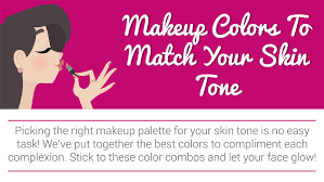 make up colors to match your skin tone