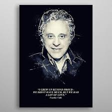 frankie valli quote sport poster print metal posters displate