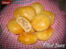 en filled buns fauzia s kitchen fun