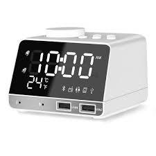 anole digital alarm clock radio alarm