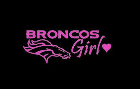 Denver Broncos Girl Car Vinyl Window Decal Sticker Get It From Http Amzn To 1no3yum Denvercountry Vinyl Window Decals Broncos Window Vinyl