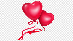 love heart two love balloon png pngwave