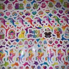 Cute Vintage Lisa Frank Sticker Sheets I Have Depop