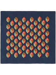 gucci gg wallpaper print silk scarf