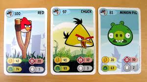 Angry Birds Power Cards Game - YouTube