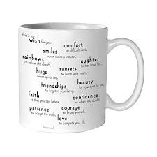 buy quotable my wish for you anonymous mug quotes kitchen home