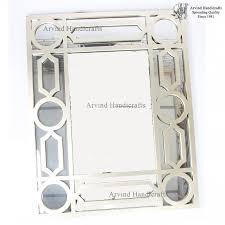 brushed nickel mirror trim frame kit