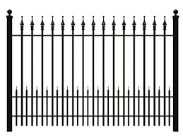 China No Dig Garden Steel Fence Panels With Different Style China Pool Fencing Cast Iron Fence