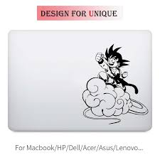 Song Goku Dragon Ball Anime Laptop Decal For Apple Macbook Sticker Pro Air Retina 11 12 13 15 Inch Vinyl Mac Surface Book Skin Anime Laptop Decal Laptop Decaldecals For Laptops Aliexpress