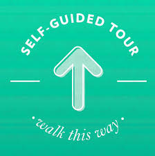 Self Guided Tour Removable Floor Sticker Sprout Marketing